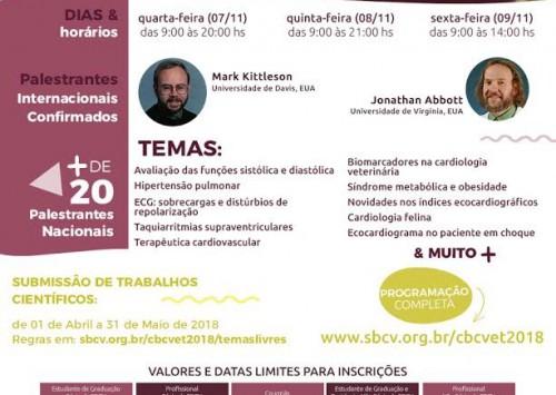 Campos do Jordão recebe o 3° Congresso Brasileiro de Cardiologia Veterinária